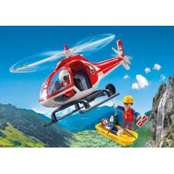 Mountain Rescue Helicopter. PLAYMOBIL 9127