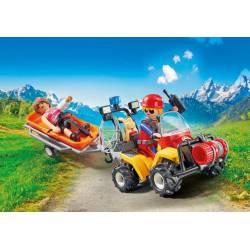 Mountain Rescue Quad. PLAYMOBIL 9130