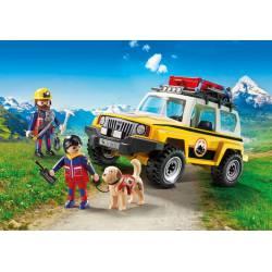 Mountain Rescue Vehicle. PLAYMOBIL 9128