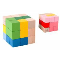Puzzle cubo de madera. IT303533