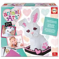 Animal art: Rabbit EDUCA 17423