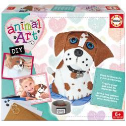 Animal art: Puppy. EDUCA 17421