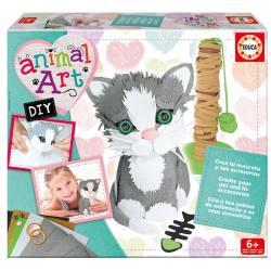 Animal art: Kitten. EDUCA 17422