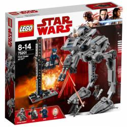 Star Wars, First Order AT-ST. LEGO 75201