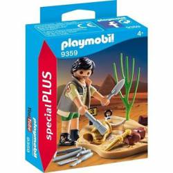Archaeological excavation. PLAYMOBIL 9359