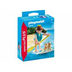 Surfer with dog. PLAYMOBIL 9354