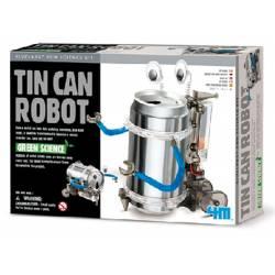 Tin can robot.