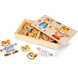 """Puzzle """"Bears""""."""