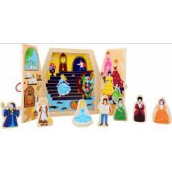 Cinderella fairytale in a box.