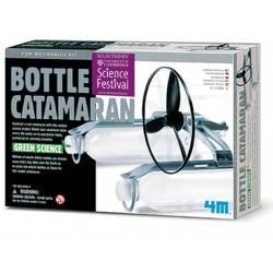 Bottle catamaran.