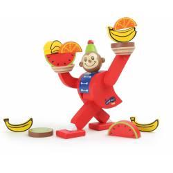 Balancing monkey.