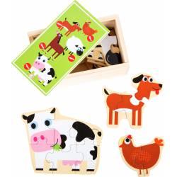 Animals on the Farm Puzzle Box.