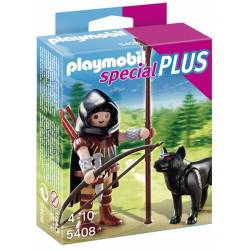 Huntsman With Wolf Playset.
