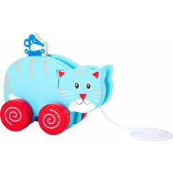 Pull-along Cat and Mouse.