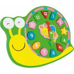"Activity clock ""snail""."