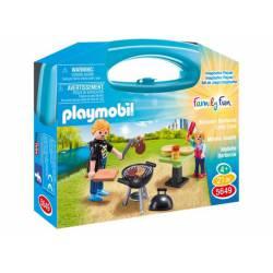 Backyard barbecue carry case.