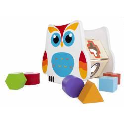 Blocks owl.