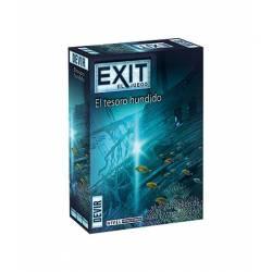 Exit. The sunken treasure.