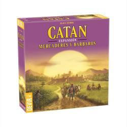 Catan. Traders and Barbarians.