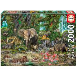 African jungle. 2000 pcs.