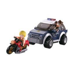 Police Jeep.