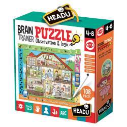 Brain trainer puzzle.