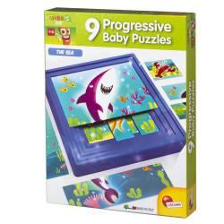 Progresive baby puzzles, the sea. LISCIANI