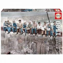 Puzzle almuerzo en Nueva York. 1500 piezas.