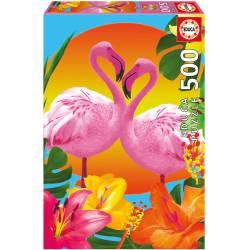 Flamingos. 500 pcs.