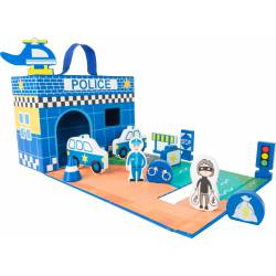 Police Station Themed Play Set.