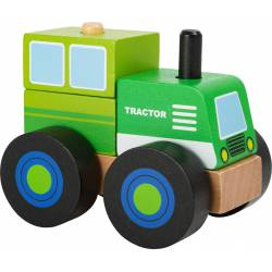 Construction vehicle tractor.