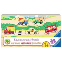 """Puzzle """"my first vehicles""""."""