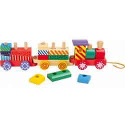 """Train """"Bright Colours""""."""