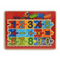 Puzzle, números y operaciones. FENTOYS 63246