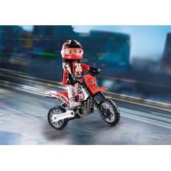 Motocross driver.