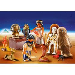 Egyptian Treasure Carry Case.