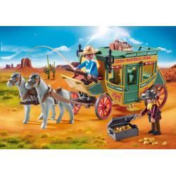Western stagecoach.