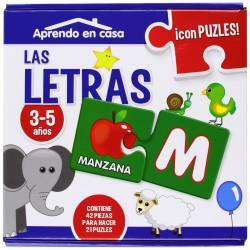I learn the letters. ED. SALDAÑA