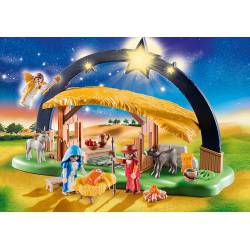 Illuminating Nativity Manger.