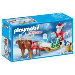 Santa's Sleigh with Reindeer.