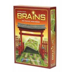 Brains. Japonese garden.