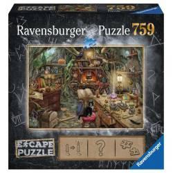 Escape puzzle: La cocina de la bruja.