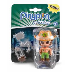 PinyPon Action: Fireman. FAMOSA