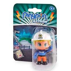 PinyPon Action: Policeman. FAMOSA