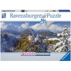 Neuschwanstein Castle. 2000 pcs.