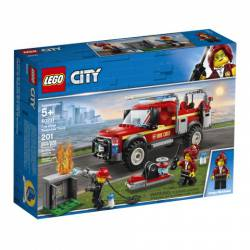Fire chief response truck.