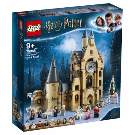 Hogwarts clock tower.