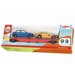 Auto transport car.