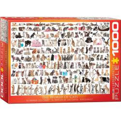 The world of cats. 1000 pcs.