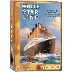 Titanic White Star Line. 1000 pcs.